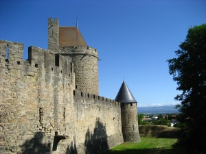 The gorgeous walled city of Carcasonne