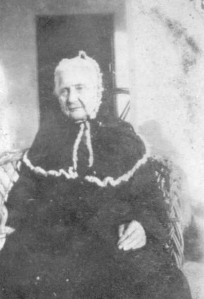 Reaching even further back: my great, great grandmother in India, wearing a Victorian-era mourning gown.